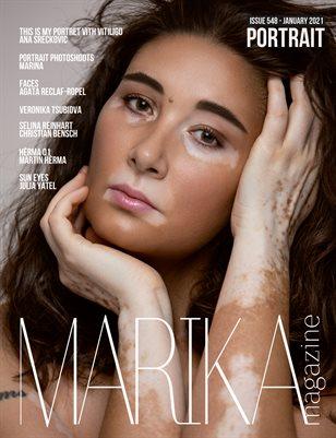 MARIKA MAGAZINE PORTRAIT (ISSUE 548 - January)