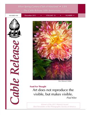 December 2011 Cable Release, Vol. 53, No. 4