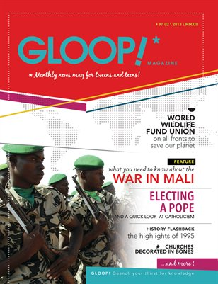 GLOOP! News mag for tweens and teens - March '13