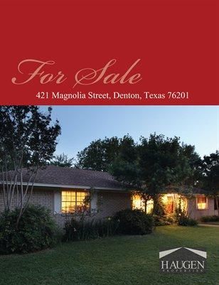 421 Magnolia Street, Denton, Texas, 76201