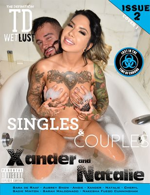 TDM Xander & Natalie Wet lust Singles and Couples issue2 cover 1