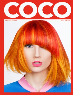 COCO Magazine Issue 2 Beauty Color POP!