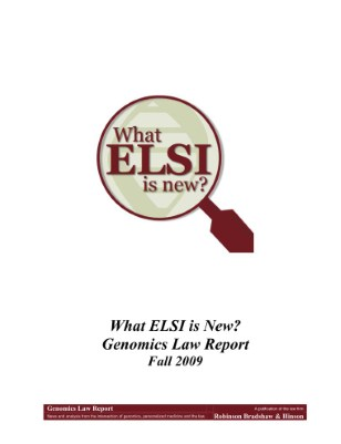 What ELSI is New?
