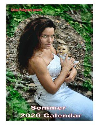 2020 Sommer calendar