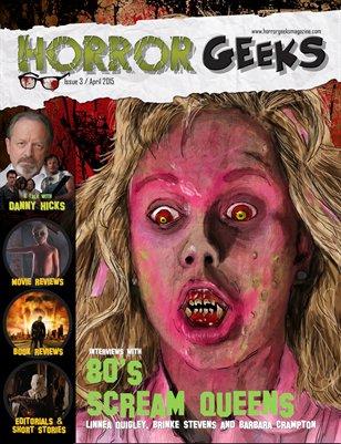 Horror Geeks Magazine April 2015