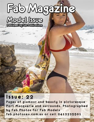 Fab Magazine Model Issue 23