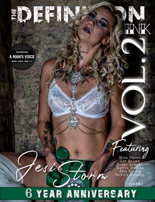 TDM:INK 6yr Anniversary Jesi Storm Vol.2 Cover 2