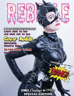 Rebelle Magazine - Comics, Cosplays & CRPGs Special Edition