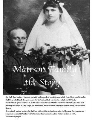 Mattson Family Story