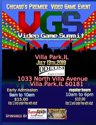 Video Game Summit 2019-early program