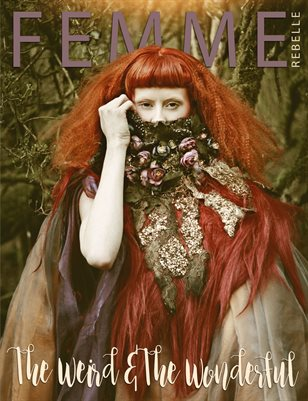 Femme Rebelle Magazine WEIRD & WONDERFUL SPECIAL - June 2017 MyBoudoir Cover