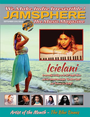 Jamsphere Indie Music Magazine September 2016