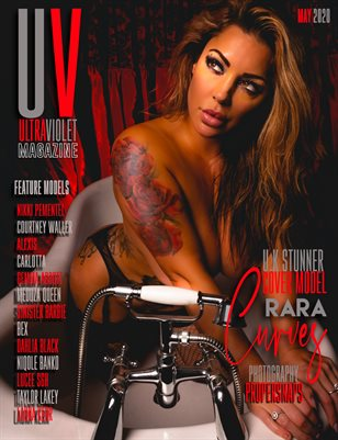 ULTRAVIOLET Magazine: May 2020 Cover Three