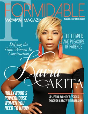 Formidable Woman Magazine Aug/Sept 2019