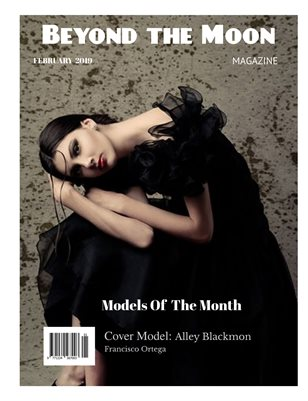 Beyond the Moon Magazine, February Models of the Month