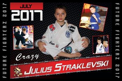 Julius Straklevski Cal Poster 2017