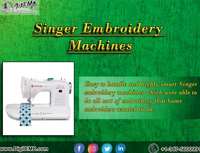 Singer Embroidery Machines