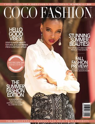 COCO Fashion Magazine - October 2018 Vol.5