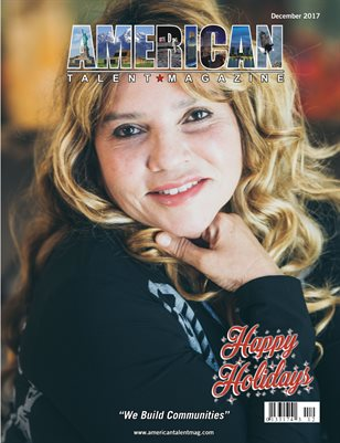 American Talent Magazine December 2017 Edition