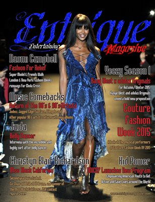 Entrigue Magazine April 2015 (Naomi Campbell)