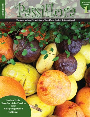PSI Newsletter Spring 2012, Volume 22, Number 1 - Fruit Edition