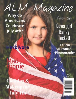 "ALM Child-Teen Magazine, ""Red, White & Blue,"" Issue 81, July 2018"