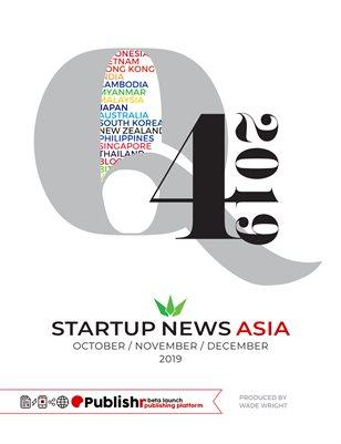 Startup News Asia: Q4 2019