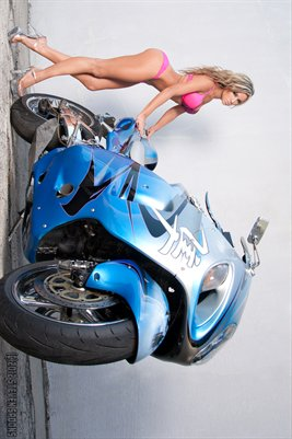 Jenna Tails Turbo Busa Poster