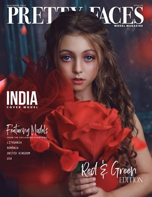 Pretty Faces Model Magazine | December 2020 - Issue 20