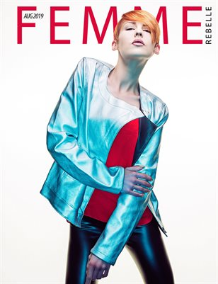 Femme Rebelle Magazine Aug 2019 BOOK 1 - Stoke Parker Cover