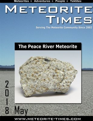 Meteorite Times Magazine - May 2018 Issue