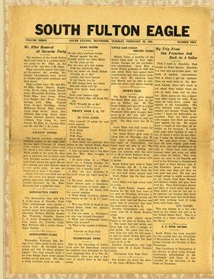 Feb. 20, 1945 South Fulton Eagle, South Fulton, Tennessee