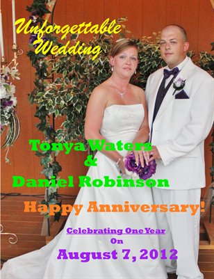 Waters Robinson Wedding Magazine Anniversary