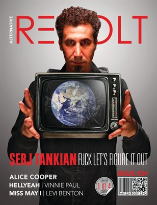 Alt Revolt Mag Issue 24.2 (Serj Tankian) Limited Edition [1 of 4 covers]
