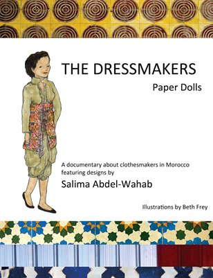 Paper Dolls of Moroccan Clothes by Beth Frey