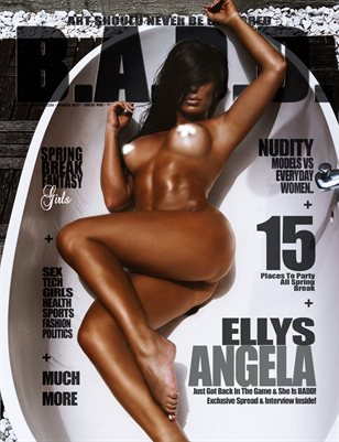 B.A.D.D. Magazine Issue #52 (Ellys Angela Cover)