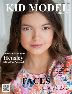 Kid Model magazine Issue 12 Volume 7 2019 FACES ISSUE