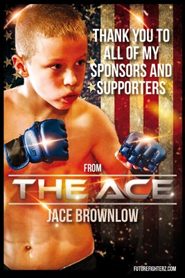 Jace Brownlow Thank You Poster