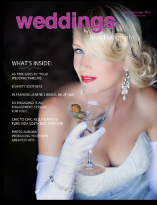 Bliss Fotography 2012 Wedding Magazine