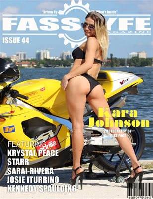 FASS LYFE MAGAZINE ISSUE 44 FT KARA