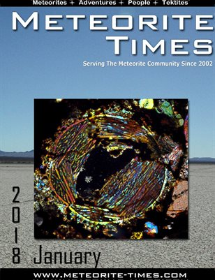 Meteorite Times Magazine - January 2018 Issue