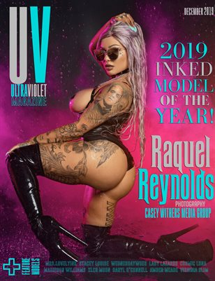 ULTRAVIOLET Magazine: Raquel Reynolds: 2019 Inked Model of the Year