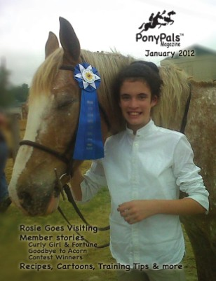January 2012 Pony Pals Magazine Vol. 1 #8