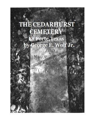 Cedarhurst Cemetery by George E. Wolf Jr.