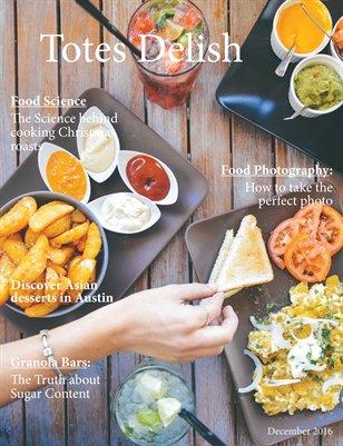 Totes Delish magazine