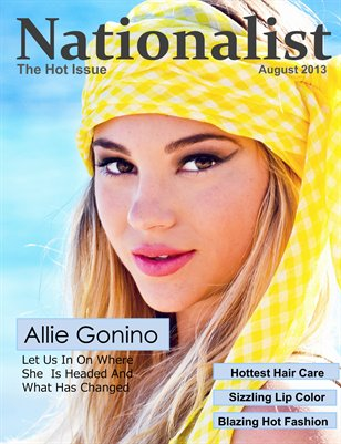 Nationalist Magazine August 2013
