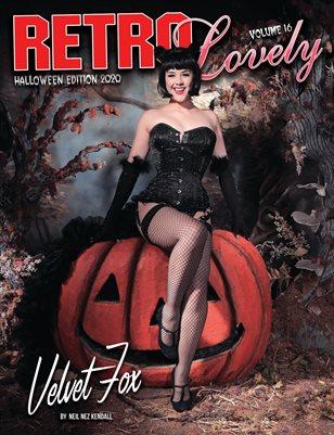 Halloween 2020 - VOL 16 – Velvet Fox Cover