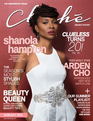 Cliché Magazine - June/July 2015 (Shanola Hampton Cover)