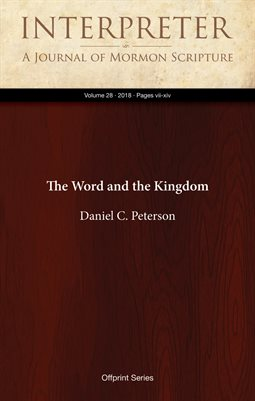 The Word and the Kingdom