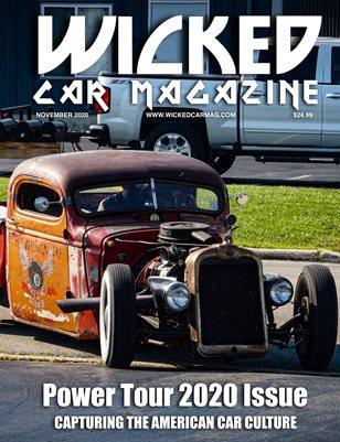 WICKED CAR MAGAZINE NOVEMBER 2020 - 1946 CHEVY PICK-UP